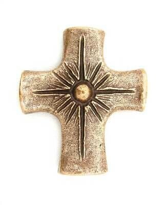 Solid Bronze Light of the World Cross