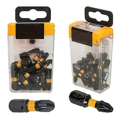 Impact Screwdriver Bits Pz1 Pz2 Pz3 Pozi 1 2 3 Head 25Mm Screw Driver Bit X 5