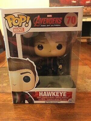 Funko Pop Hawkeye #70 Marvel Avengers Age of Ultron VAULTED/RETIRED