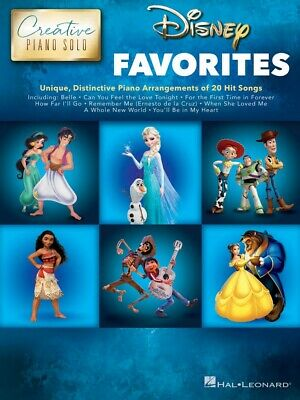 Disney Songs Sheet Music Piano Solo SongBook NEW 000313527