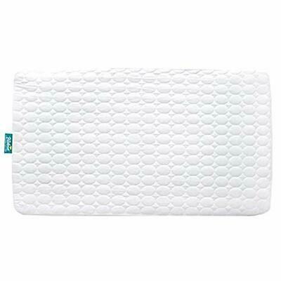 Crib Mattress Pad Cover Fit Baby Bed Protector Fitted Cotton Waterproof Standard