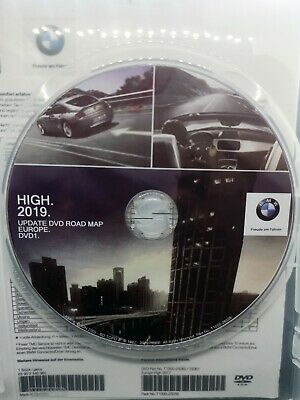 BMW Navi Update High 2019 Road Map Navigations DVD1 MK4