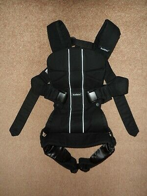 Baby Bjorn Baby Carrier One In Black Soft Cotton Mix Birth - 3 Years Babybjorn