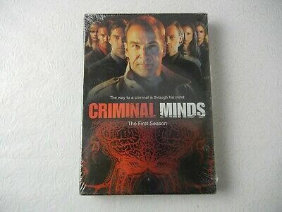 Criminal Minds The First Season DVD NEW SEALED!!