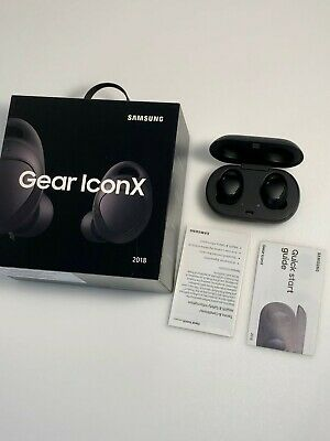 Samsung Gear IconX Wireless Bluetooth Cord-free Fitness Earbuds 2018 Black