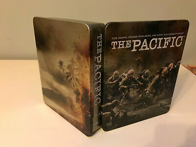 The Pacific (Blu-Ray 2010 6-Disc Set, Box Set) STEEL BOOK EDITION