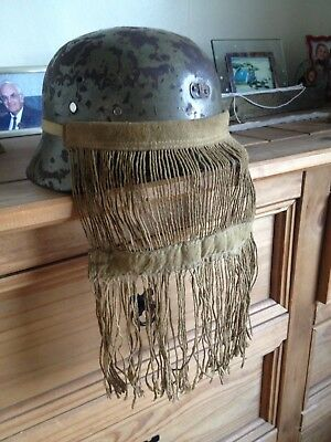 SS Camo Face Veil Sniper Repro Ww2 German