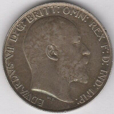 1906 Edward VII Silver One Florin/Two Shillings | British Coins | Pennies2Pounds