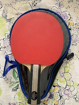 Palio Master 2.0 Table Tennis Bat & Case - ITTF Approved - Flared - Used