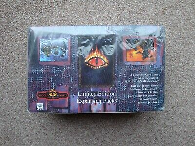 Dark Minions Booster Box - Middle Earth CCG - New & Sealed