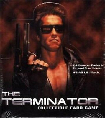 Terminator CCG Booster Box - TCG Precedence - Brand New & Sealed