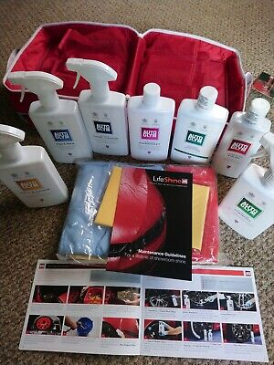 Autoglym Lifeshine Car Cleaning Kit In Red Case- BRAND NEW