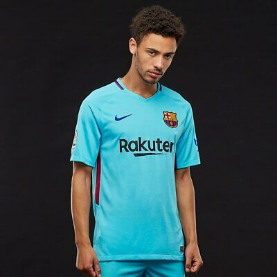 Nike FC Barcelona Away Football Shirt 2017 2018 | Men's S Small | 847254-484