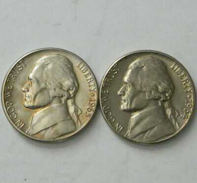 Gem BU Jefferson Nickel From Original Bank Roll With Full Luster 1946-P Choice
