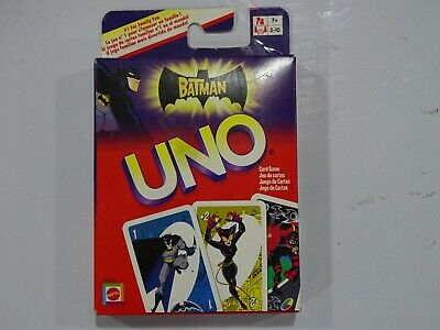 Batman Animated Series Themed Classic Play UNO Family Card Game P7