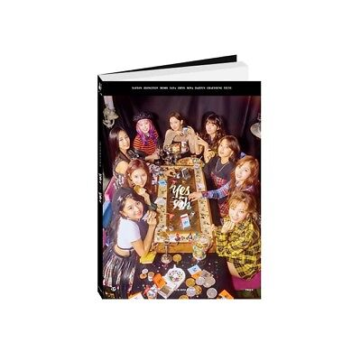 TWICE - YES or YES [A ver.] CD+Photobook+Photocards+Poster+Free Gift