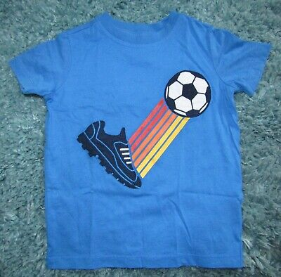 Lands End football theme t-shirt, age 4 NWOT!!!