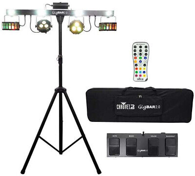 Chauvet DJ GigBAR 2 Light System With IRC Remote And Foot Control