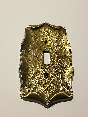 Amerock Carriage House Single Light Switch Cover Plate Brass Vintage