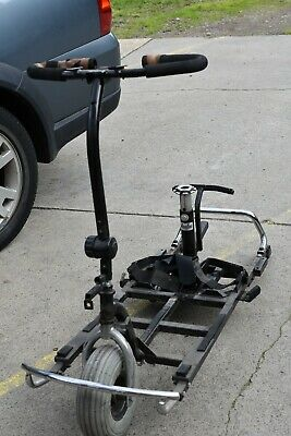 Mobility Scooter Frame, Headstem and Wheel - GC