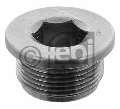 pack of one febi bilstein 30968 Oil Drain Plug with seal ring