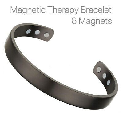 Copper Magnetic Bracelet  Bio Healing Therapy Arthritis Pain Relief Bangle UK