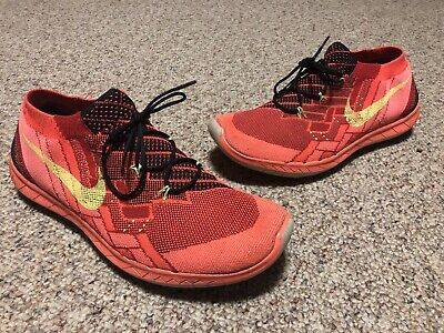 5726cf613 Nike Free 3.0 Flyknit Running Shoes 718418-006 Size 11 Used Trashed Beaters
