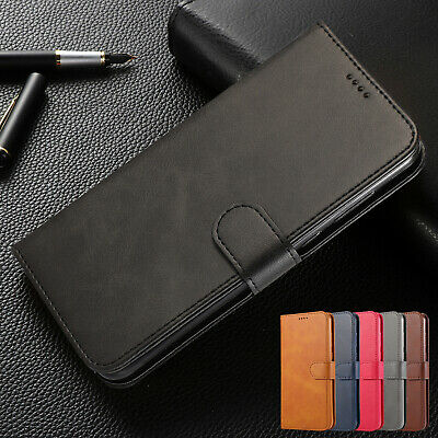 For Samsung Galaxy S10 5G S9 Plus S8 Note 9 S6 S7 Case Leather Wallet Flip Cover