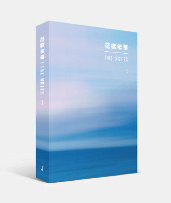 BTS - [花樣年華 The NOTES 1] 234p Book + 4 BTS Photocard [JAPANESE ver] Tracking no.