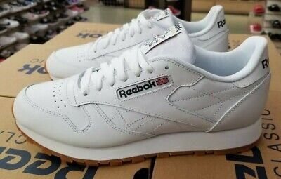 Reebok Classic Leather Men White/Gum 49797 Men's