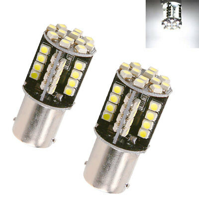 P21W 382 BA15S 44 1156 LED 1210 SMD CANBUS WHITE TAIL SIDE lights UK