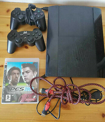 Console Sony Playstation 3 Ps3 Slim Da 500 Gb Di Memoria Con Joystick E Gioco