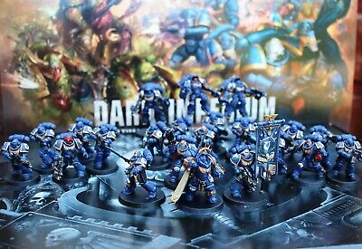 warhammer 40k space marines + deathguard dark imperium Pro painted made to order