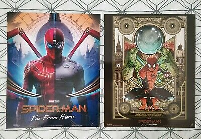 Cinema IMAX Marvel Spider-Man Far From Home ODEON Poster MYSTERIO Approx A4