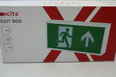 Xcite Led Emergency Exit Box #Y232