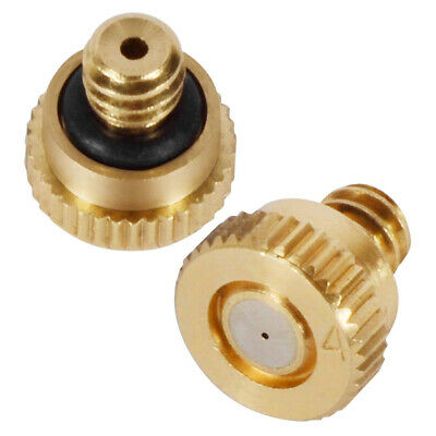 Brass Stainless Steel Misting Nozzles Water Mister Sprinkle For Cooling System