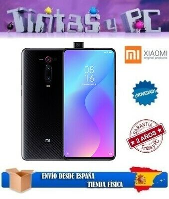 Xiaomi Mi 9T Negro 128Gb. 6Gb Ram. Snapdragon 730. ¡Version Global En Español!
