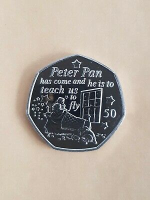 Peter Pan 50p coin 2019 - Wendy & Nanna MINT NEW