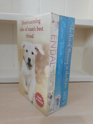 Boxset Collection of 3 x Paperback Books  Dog True Stories - NEW