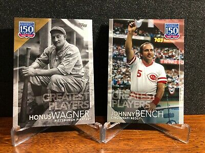 2019 Topps Series 2 GREATEST PLAYERS Insert Set YOU PICK Finish Set BUY 2 GET 1