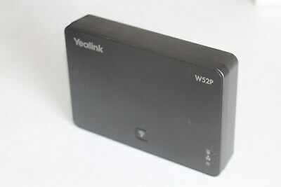 YEALINK BASE W52P IP DECT  / PHONE BASE ONLY .. Occasion