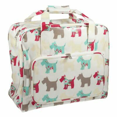 HobbyGift Sewing Machine Bag - Scotty Dog -Animal - PVC Storage Crafts