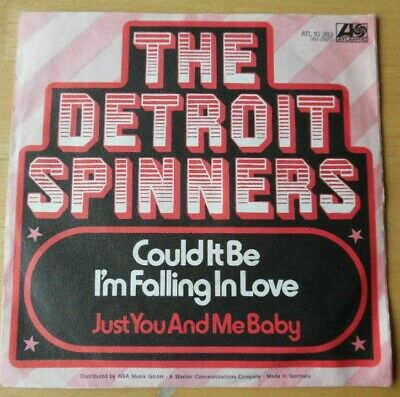 """<0267-54> 7"""" Single: The Detroit Spinners - Could It Be I'm Falling In Love"""