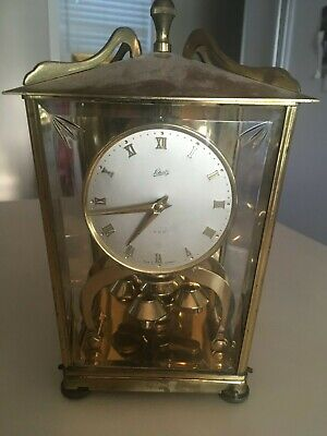 VTG August  Schatz Sohne 400 Day Carriage Anniversary Clock Made in Germany