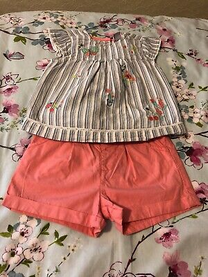 Mini Club Girls Summer Outfit 1-1 1/2 Years