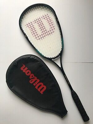 Wilson Proton 200 Graphite Squash Racket With Cover