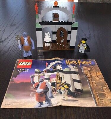 LEGO 4712 Harry Potter Philosophers Stone Troll on the Loose Complete , No Box