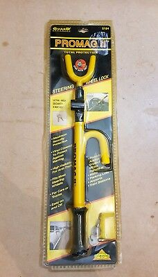 Promag II Steering Wheel Lock With 2 Keys