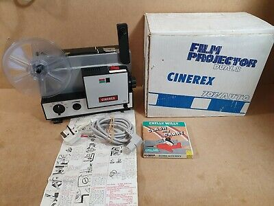 Vintage Cinerex 707 Dual 8 Film Projector 8MM