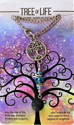Gift-craft Stainless Steel Adjustable Charm Hollow Tree of Life Bracelet Chain